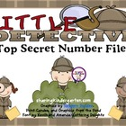 Little Detective Top Secret Number Files