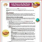 Little House in the Big Woods Facebook Reading Activity (4 pages)