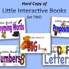 Little Interactive Books Set Two    HARD COPIES