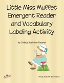 Little Miss Muffet Emergent Reader