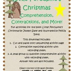 Little Porcupine's Christmas Contractions, Comprehension,