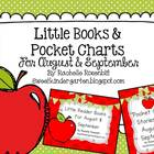 Little Reader Book & Pocket Chart Bundle for August and September