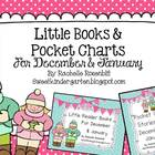 Little Reader Book & Pocket Chart Bundle for December and January