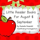 Little Reader Books for August & September