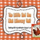 Little Red Hen Mini Literacy Unit