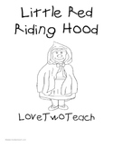 Little Red Riding Hood:  Reading and Math Center Fun