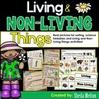 Living and Non Living Things {Real pictures for sorting an