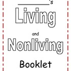 Living/Nonliving 4 page booklet