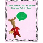 Llama Llama Time To Share Activity Pack