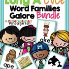 Long 'A' CVCe Word Family Word Work Galore Bundle-Differen