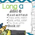 Long A Silent E- 5 interactive activities