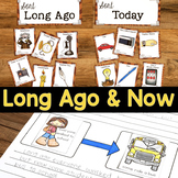 Long Ago & Now {Social Studies Unit}