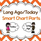 Long Ago and Today~ Thanksgiving Smart Chart Parts {Freebie}