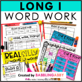 Long I Word Work Activities