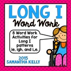 Long I Word Work Pack