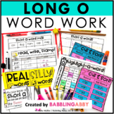 Long O Word Work Activities