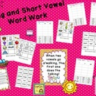 Long & Short Vowel Word Work