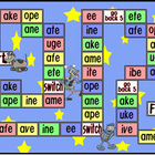 Long Vowel - Board Game - phonics