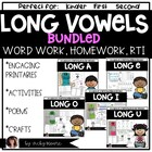 Long Vowel Bundle Mega Pack { all 5 of my long vowel units in 1 }