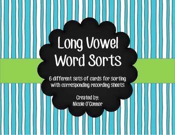 http://www.teacherspayteachers.com/Product/Long-Vowel-Word-Sorts-for-Centers-and-Phonics-Lessons-1150850