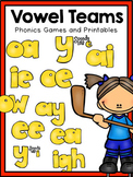 Long Vowel and Vowel Team Phonics Mega-Pack!