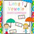 Long Vowels - Letter I