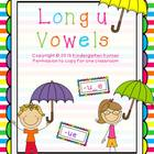Long Vowels - Letter U
