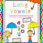 Long Vowels - a,e,i,o,u