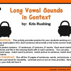 Long Vowels in Context