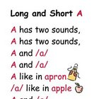 Long and Short Vowel Book