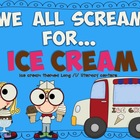 Long /i/ Ice Cream Literacy Centers