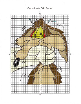 Scooby Doo Coordinate Grid Graph