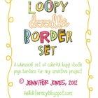 Loopy Doodle Borders Bundle - (Set of 9)