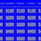 Lord of the Files Jeopardy review game