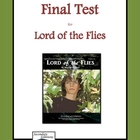 Lord of the Flies Final Book Test