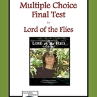 Lord of the Flies Multiple Choice Test