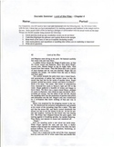 Lord of the Flies - Socratic Seminar Annotation handouts