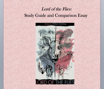 Lord of the Flies and Mean Girls Comparison Unit