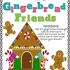 Lost Gingerbread Friends- Odd & Even Math Center