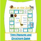 """""""Lost at the Zoo"""" Text Structure and Text Features Board Game"""