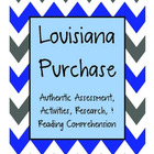 Louisiana Purchase Mini Unit {Authentic Assessment, Activi