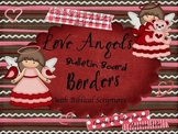 Love Angels Bulletin Board Borders with Biblical Verses