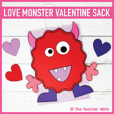 Love Monster Valentine Sack!