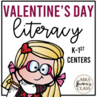 Love Monster Valentine Literacy Pack