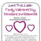 Love That Lasts (Family Valentine's Day Devotions)