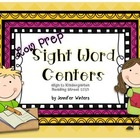 Low Prep Sight Word Center Bundle