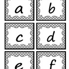 Lowercase Letter Alphabet Cards