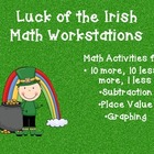 Luck of the Irish: Math Workstations for March