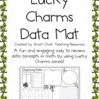 Lucky Charms Cereal Data Mat ~ Perfect for a Review of Dat