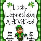 Lucky Leprechaun Activities! {St. Patrick's Day Fun!}